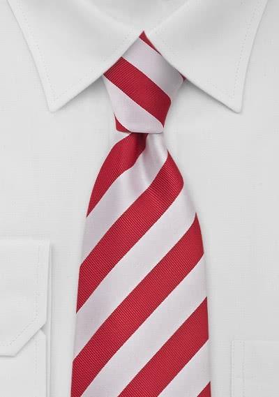 Schmale Krawatte lila -