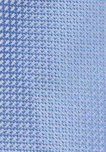 Kravatte mit Gummizug in silber - Kravatte
