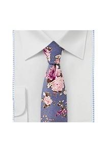 Schal mit Punkt-Muster in navy - Krawattenschal