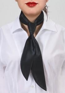 - Krawatte unifarben braun