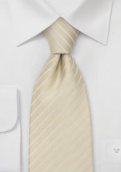 Krawatte grob gepunktet silber weiß -