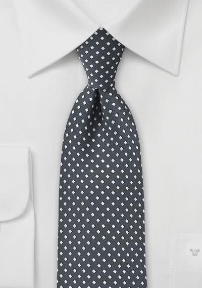 Krawatte für Damen schwarz einfarbig -
