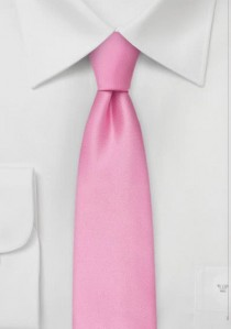 - Auffallende Krawatte rose Kunstfaser