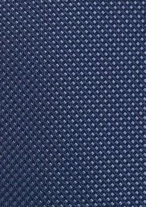 Krawatte königsblau einfarbig glatt