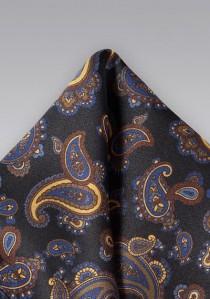 Krawatte gestreift in magenta und schneeweiß -