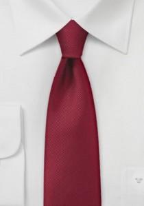 Modische Krawatte rosé Poly-Faser