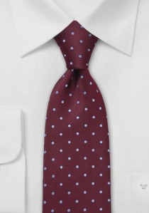 - Moulins Krawatte in reinweiß