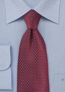 Herrenkrawatte zierlich strukturiert dunkelgrün