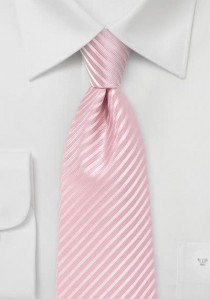 Mikrofaser-Krawatte einfarbig gelb
