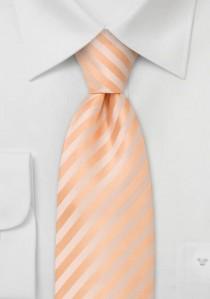 Granada Krawatte in apricot