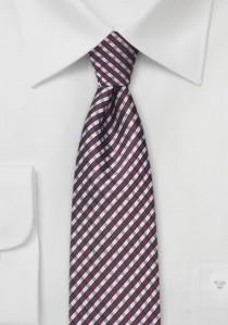 - Edle Krawatte weiß