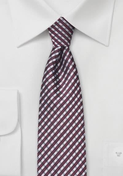 Edle Krawatte weiß -