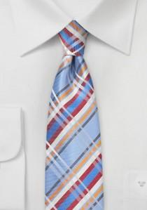 Krawatte Streifenstruktur dunkelgrün