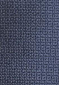 Krawatte Streifendessin dunkelblau weiß