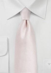 - Elegante Clip Krawatte Streifen blau