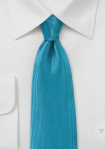 - Krawatte Streifen zart dunkelblau weiß
