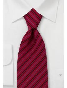 Herrenschal Paisley-Muster rot groß