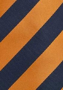 - Clip-Krawatte einfarbig gelb