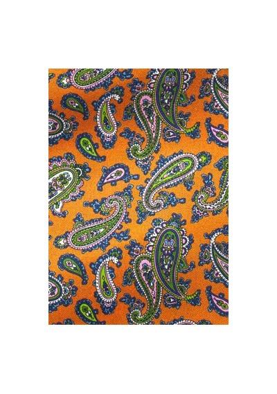 Granada  schmale Krawatte in apricot -