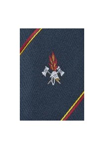 - Granada Clip-Krawatte in schwarz