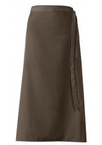 - Krawattenschal hellbraun stahlblau