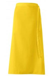 Krawattenschal orange Blümchenmotiv