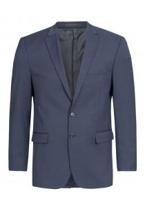 - Sicherheits-Krawatte Streifen silber navy